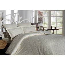 Bed linen set SoundSleep Cream Damask Jacquard Euro