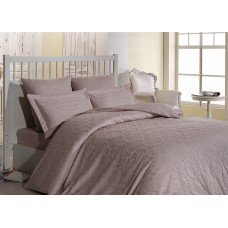 Bed linen set SoundSleep Damask Pudra Jacquard Euro