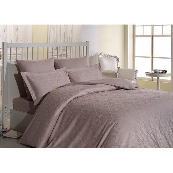 Комплект постельного белья SoundSleep Damask жаккард семейный Pudra