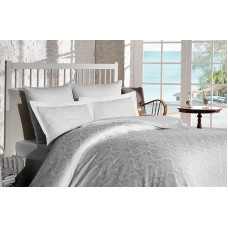 Bed linen set SoundSleep White Damask Jacquard euro