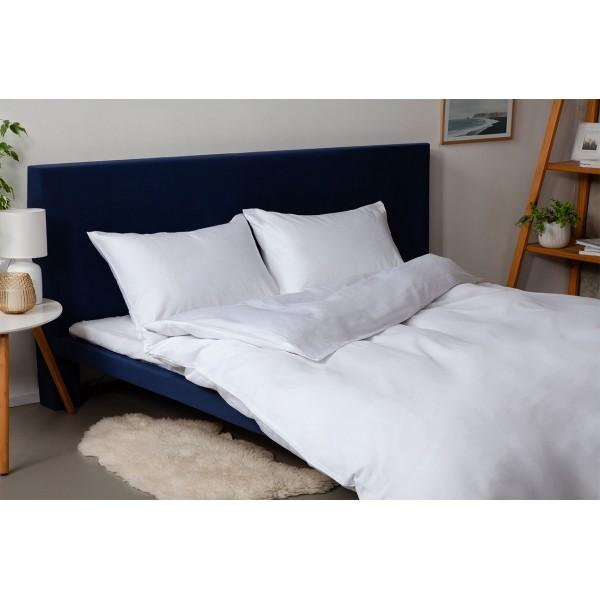 Комплект постельного белья SoundSleep Dyed White ранфорс евро