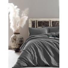 Комплект постельного белья Vogue SoundSleep сатин Graphite графит евро