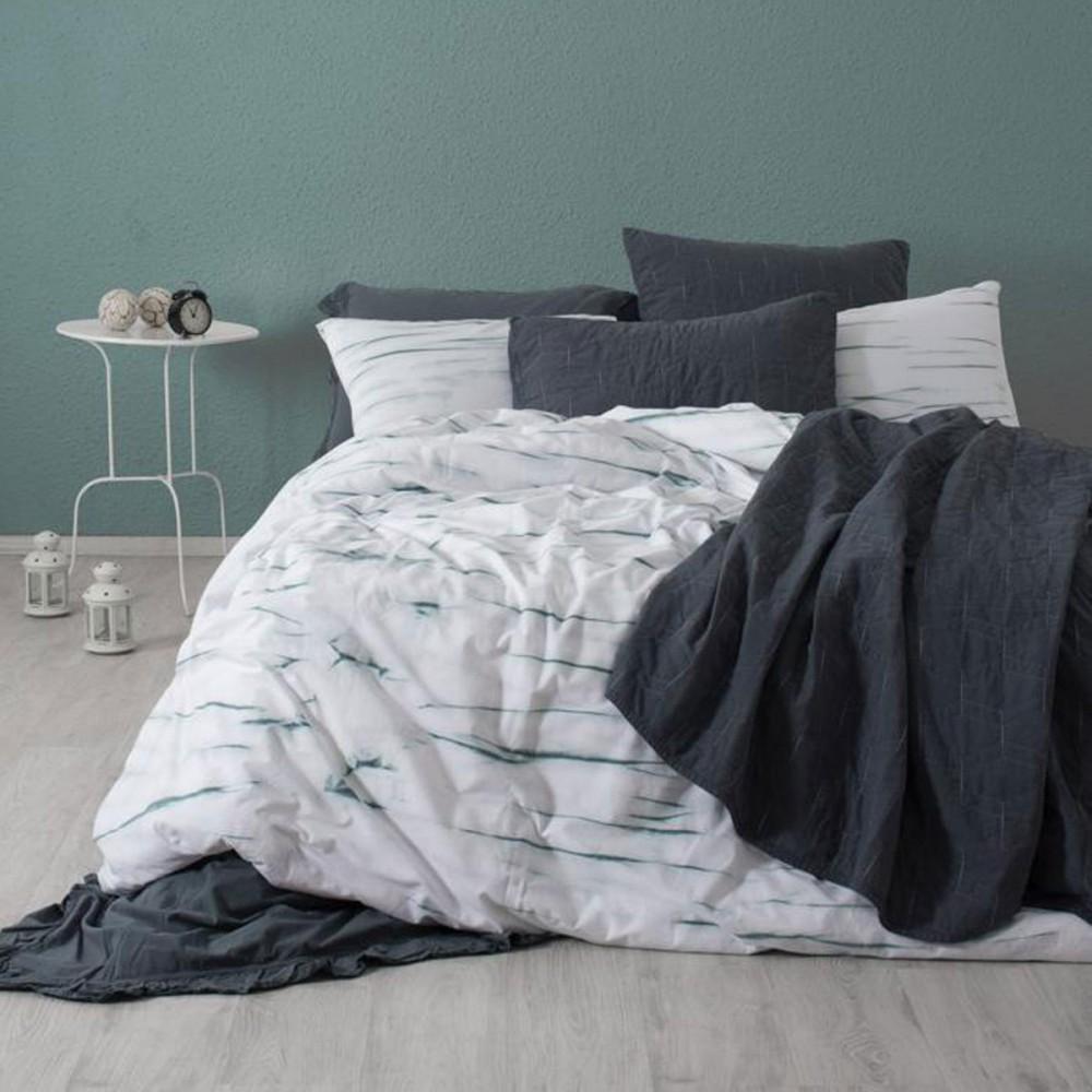 Комплект постельного белья SoundSleep La Calin поплин евро мятный