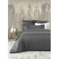 Комплект постельного белья SoundSleep Line сатин-жаккард евро Antrasit