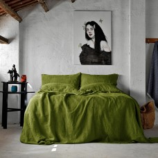Bed linen set SoundSleep Muse olive euro