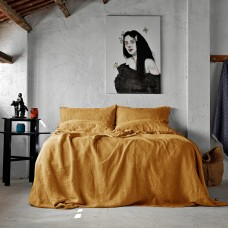 Bed linen set SoundSleep Muse mustard euro
