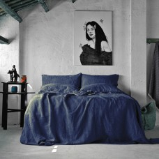 Bed linen set SoundSleep Muse blue euro