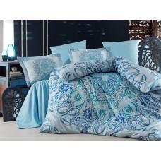Комплект постельного белья SoundSleep Monte Carlo mavi евро Sat-111