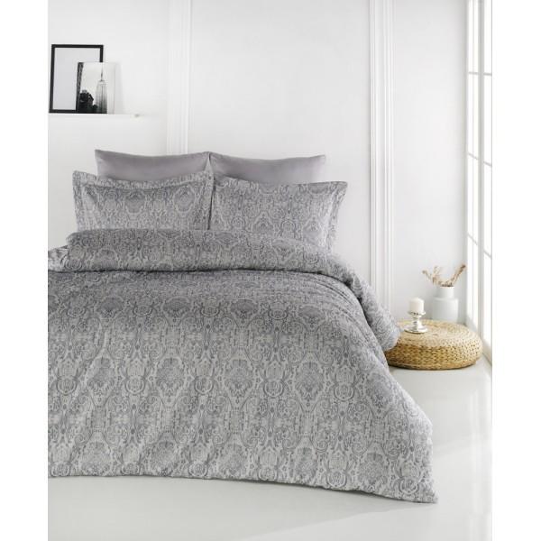Комплект постельного белья SoundSleep Old Milano жаккард евро lacivert