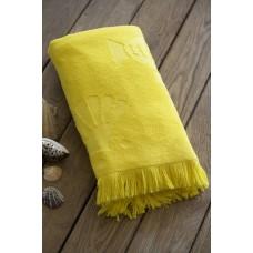 Terry beach SoundSleep Tahiti yellow 100х150 cm