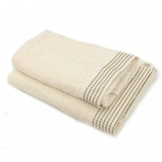 Towel SoundSleep Andora jacquard terry 70x140 cm milk-coffee