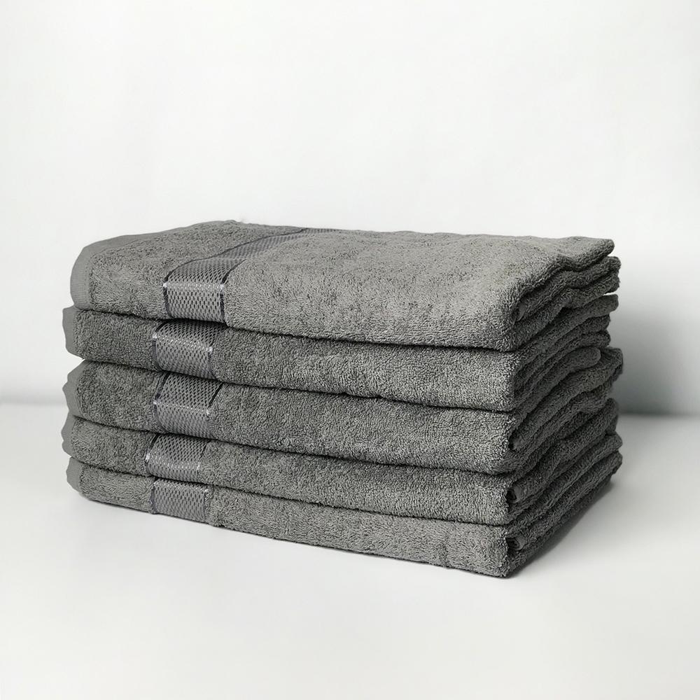 Полотенце махровое SoundSleep Rossa 40х70 см серое
