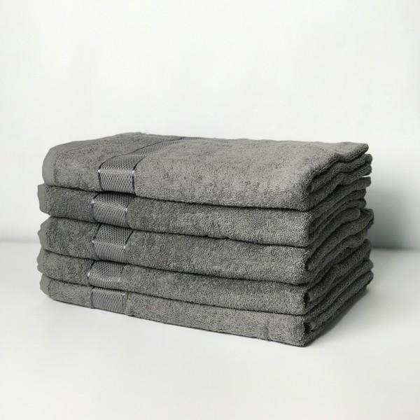 Полотенце махровое SoundSleep Rossa 50х90 см серое