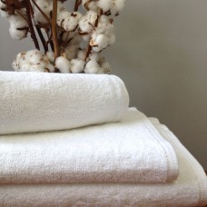 Terry towel Nostra without border white 30x50 cm