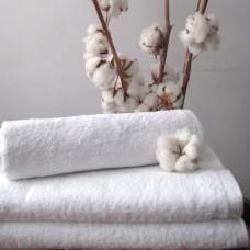 Махровое полотенце Nostra белое 70х140см