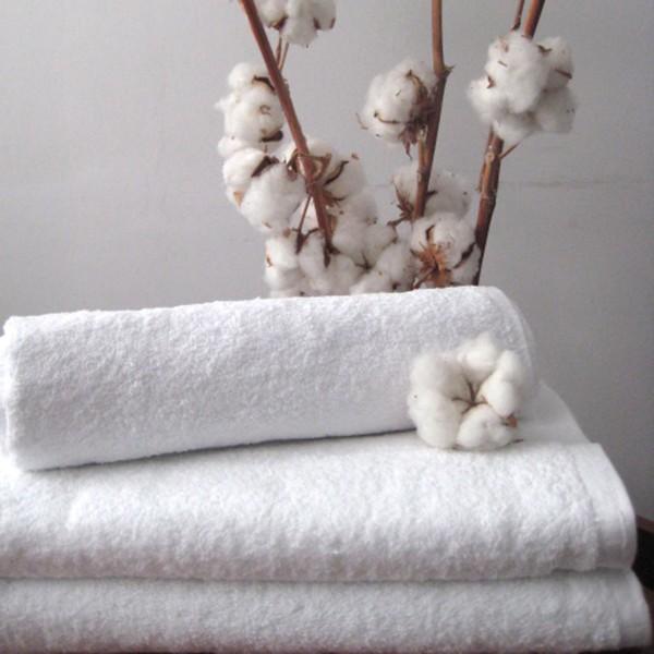 Махровое полотенце Nostra белое 30х30 см