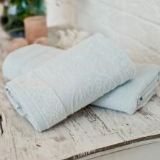 Terry towel SoundSleep Isparta lightblue 50х90 cm