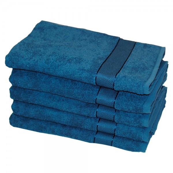 Полотенце махровое SoundSleep Rossa 100x150 см синее