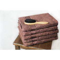 Terry towel SoundSleep Rossa 50x90 cm chocolate