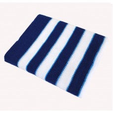 Махровое полотенце SoundSleep темно-синее 90х150 см