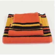 Махровое полотенце SoundSleep оранжевое 50х100 см
