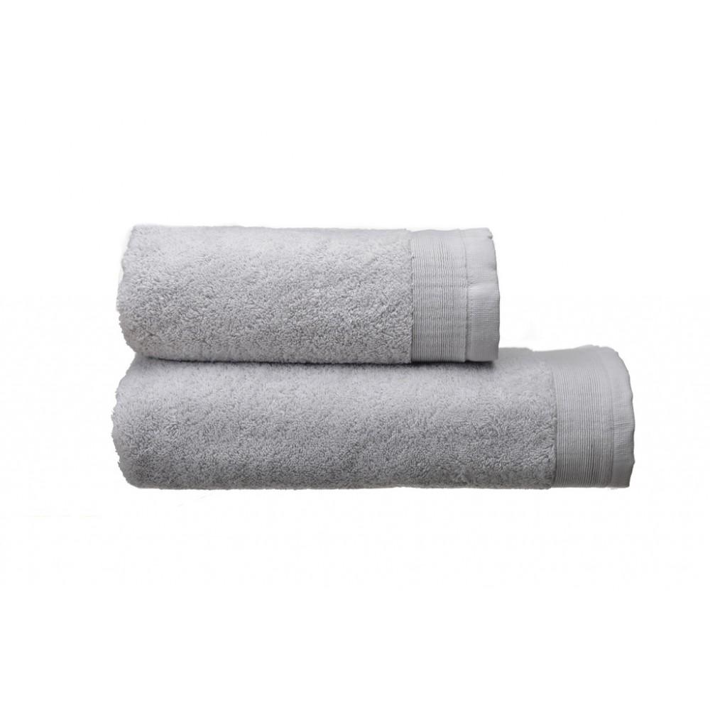 Полотенце махровое Elation Silver SoundSleep светло-серое 50х100 см 600 г/м2