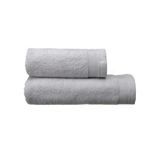 Полотенце махровое Elation Silver SoundSleep светло-серое 70х140 см 600 г/м2