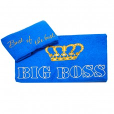 Terry towels set Ukraine Big Boss (eng)