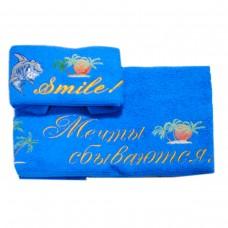 Набор махровых полотенец Украина Мечты сбываются (рус)