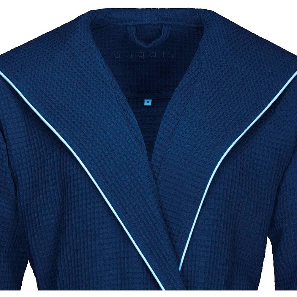 Халат вафельный Tizian Bugatti синий L