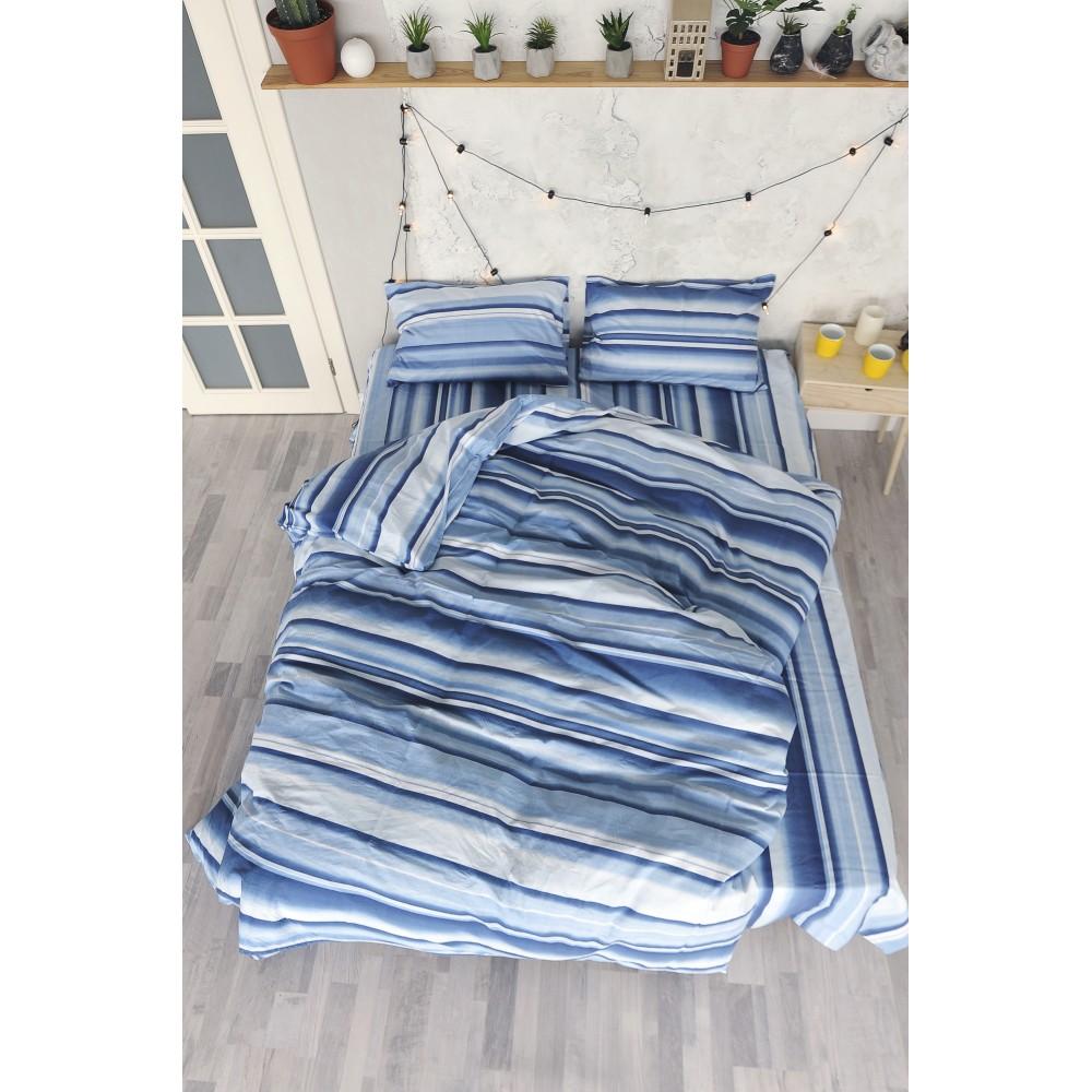 Комплект постельного белья SoundSleep Stripes ранфорс семейный
