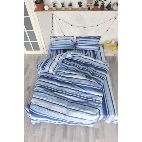 Комплект постельного белья SoundSleep Stripes ранфорс евро