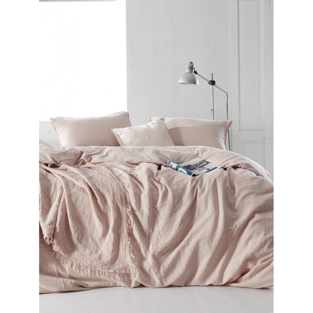 Bedding set SoundSleep Muslin pastel pink family