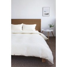Bed linen set SoundSleep flax euro Cream