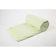 Cover blanket with a linen filler SoundSleep Light green 145х205 cm