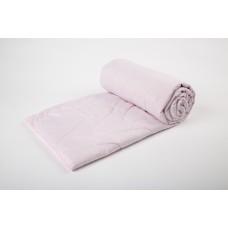 Cover blanket with a linen filler SoundSleep Pink 145х205 cm