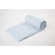 Cover blanket with a linen filler SoundSleep Blue 145х205 cm