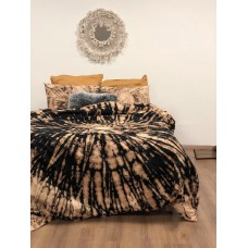 Bedding set hand-dyed Dark mustard SoundSleep ranfors euro