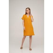 Dress Linen short SoundSleep mustard size L