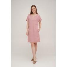 Dress Linen short SoundSleep rose size l
