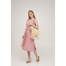 Сарафан льняной SoundSleep Linen розовый размер L