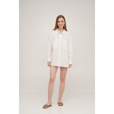 Рубашка льняная Linen SoundSleep белая размер m