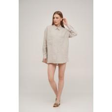 Рубашка льняная Linen SoundSleep натуральная размер m