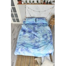 Bedding set hand-dyed Space SoundSleep ranfors euro