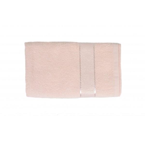 Полотенце махровое SoundSleep Rossa 50x90 см розовое