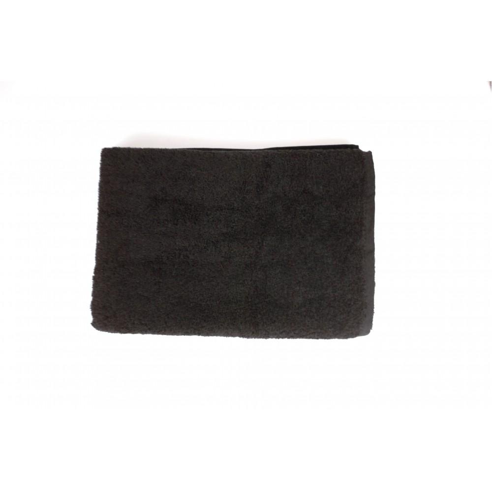 Полотенце махровое SoundSleep Rossa 70x140 см черное