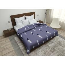 Комплект постельного белья Feather luck SoundSleep бязь двуспальний