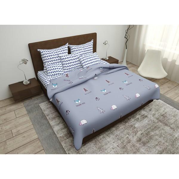 Комплект постельного белья Fox SoundSleep бязь евро
