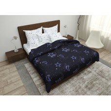 Bed linen Night Sky SoundSleep coarse calico euro