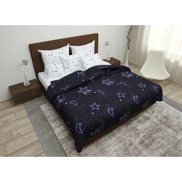Комплект постельного белья Night Sky SoundSleep бязь двуспальный